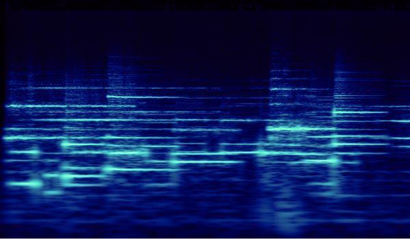 Stockhausen Studie I pg1 spectral analysis