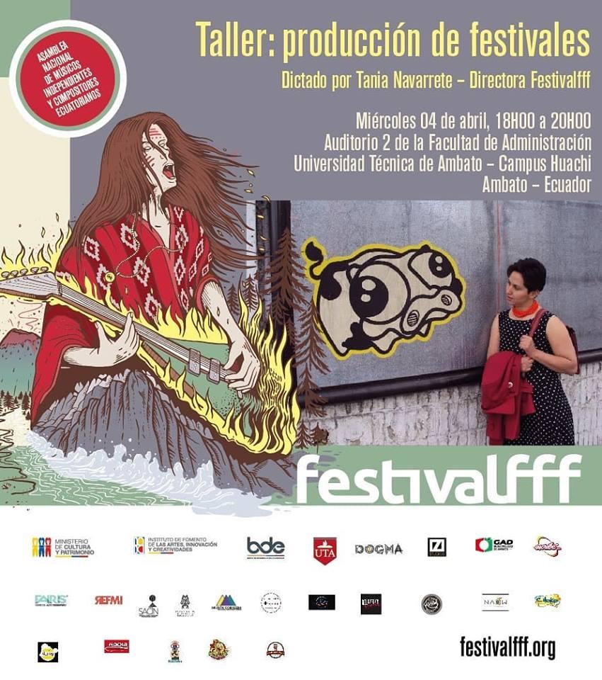 Taller producción de festivales